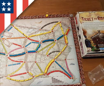 American Boardgames with the Family