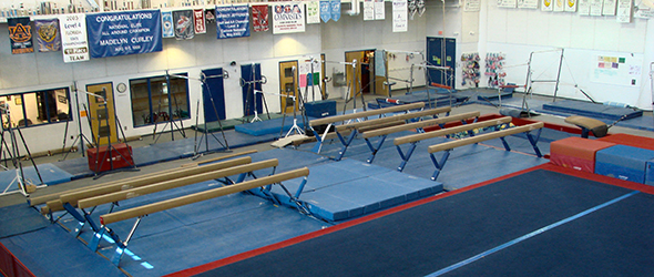 Gymnastic facility at Trousdell