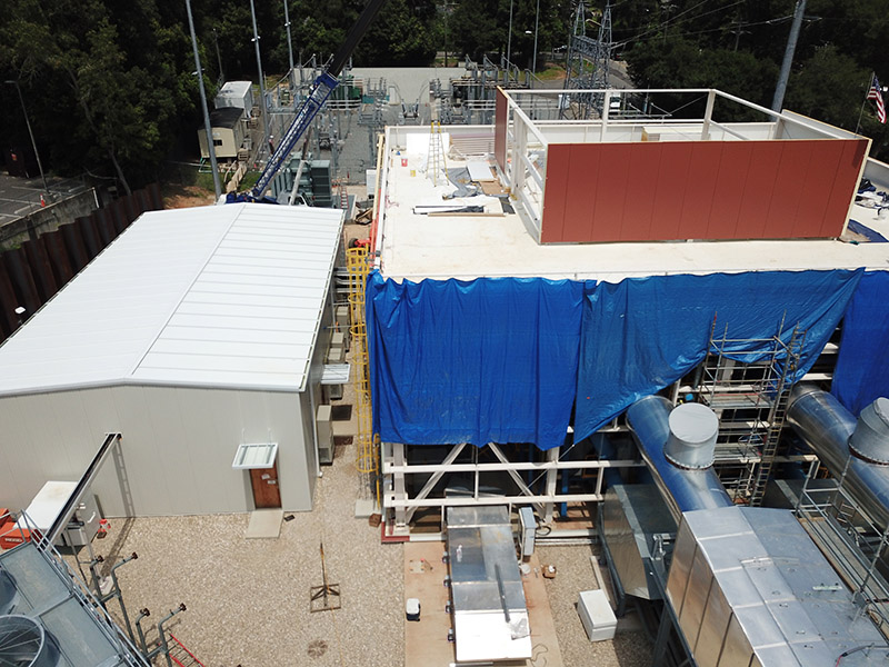Substation 12 construction update photo